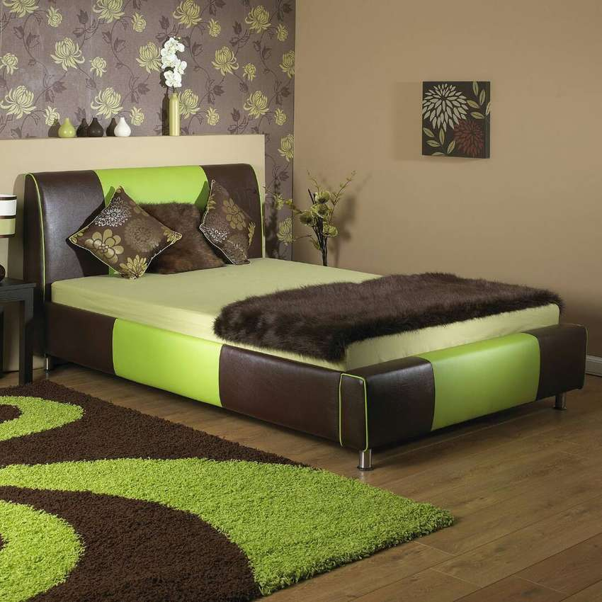 Leather bed 5*6 0