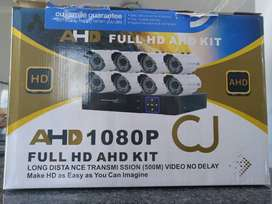 8 Channel CCTV Security Camera System DVR Kit w/ Internet 3G Phone Vie