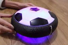 Hoverball аэромяч, летающий мяч для игры на полу светящийся