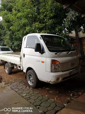Hyundai h100  with Lexus v8 engine.
