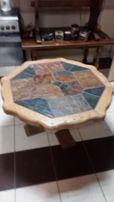 Dębowy stolik