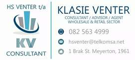 All tax and Finance requirements.