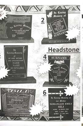 Tombstone for sale