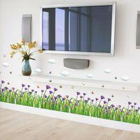 Naklejka na ścianę Kwiaty Dekor WS-0319