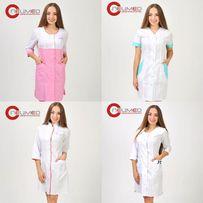 Медицинская одежда Медицинский халат Медицинский костюм Белый халат