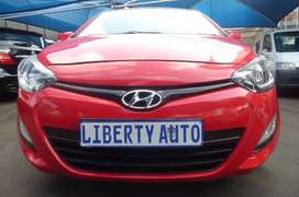 2013 #Hyundai #i20 1.6 Fluid Hatch 80,000km 5 Forward  LIBERTY AUTO