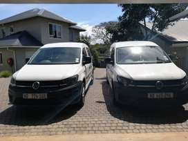 2X2017 VW Caddy for sale