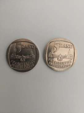 R5 inauguration coins 1994 - MAKE AN OFFER