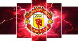 Manchester United mounted canvas