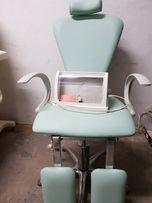 Sprzęt kosmetyczny, fotel do pedicure, sterylizator