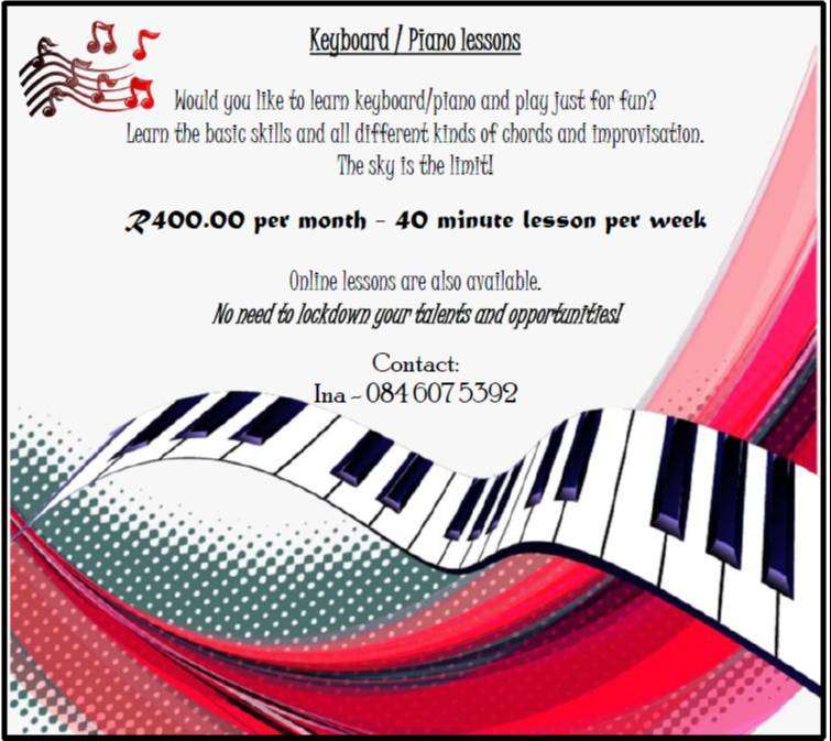 Keyboard/Piano Lessons 0