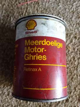 Shell ghries, old can