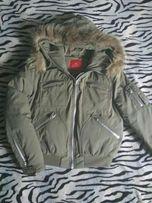 Куртка-пуховик зимняя лыжная,р.S