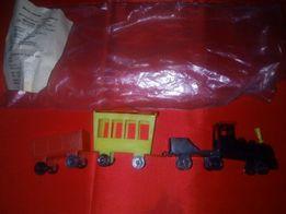 игрушка поезд,Детский ж/д состав,ретро.