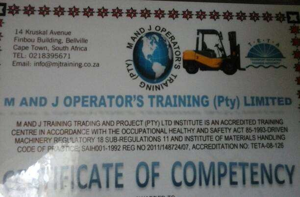 Forklift operator looking for work 0