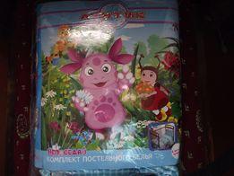 Комплект постельного белья в детскую кроватку 1000 рублей