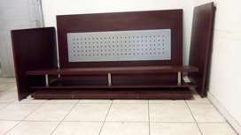 Reception desk & boardroom table with chairs. Brand new condition