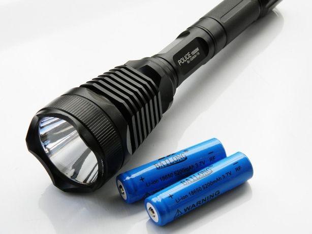 Тактический фонарь POLICE BL-Q2800 T6 150000W фонарик 1180 Lumen Сумы - изображение 4