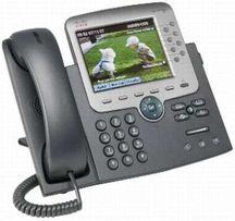 IP телефон Cisco CP7975G Новые. Упаковка не вскрыта.