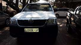 Toyota Hilux 2.0Vvti Petrol Single Cab Manual For Sale