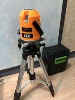 Лазерный уровень нивелир LEX LXNL01 (планировщик)+ штатив