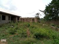 Uncompleted 4Bedroom flat with 2Bedroom flat Roofed for Sale 0