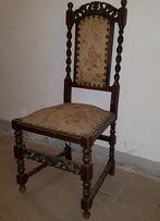 Krzesła eklektyczne między wojenne do renowacji