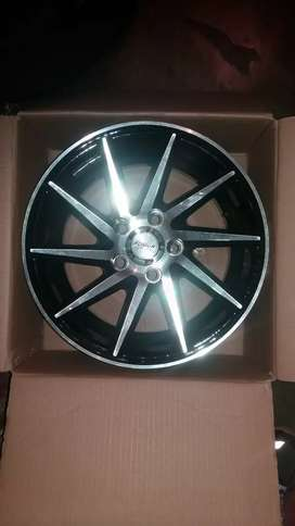 14inch Fussion mags 5x100fit perfect on Polos