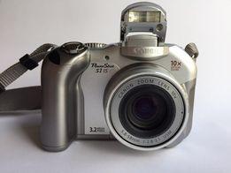 Canon PowerShot S1 IS aparat fotograficzny z 3 kartami CF