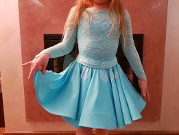 Танцевальное платье бейсик 5-6 лет