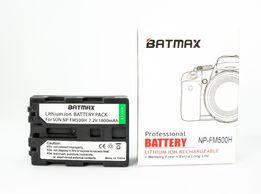 Аккумуляторная батарея Sony Batmax NP-FM500H 1800mA Alpha A58 A77 и др