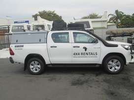 Saayman Car and Bakkie Hire - Toyota Hilux D/C 4x4