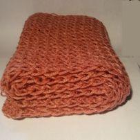 Gruby szalik zimowy ręcznie robiony nowy komin prezent