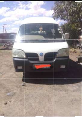 Secondhand taxi ingwe, model of 2008