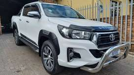 2016 Toyota Hilux 2.8 GD-6 Double Cab Raider Automatic for sale.