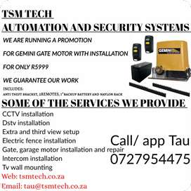 Security and Dstv services