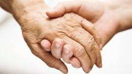 Досмотрю пожилых людей с правом наследства