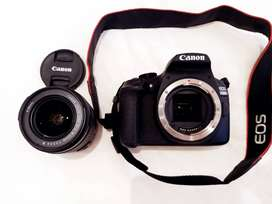 Canon EOs 1300D DSLR Camera Combo with an 18-55m Lens, a 75-300mm Lens