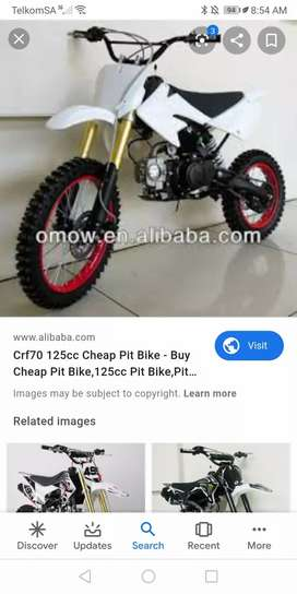 Hi I'm. Looking for a pit bike