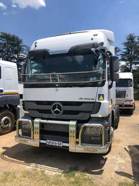 2017 Mercedes Benz Actros on special