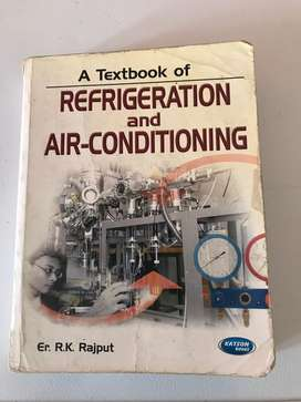 Refrigeration and Air-Confitioning book