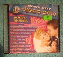 Nowe hity disco polo weselno- biesiadne - 10 utworów
