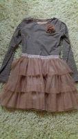 Платье праздничное красивое,8-10л