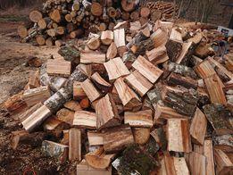 Drewno opałowe-kominkowe suche z transportem