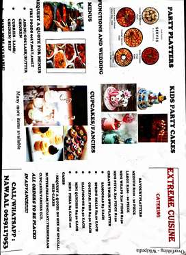EXTREME CUISINE CATERING contact nawaal