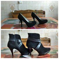 Ботиночки- туфли осенние замшевые