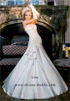 Продам элегантное свадебное платье жемчужного цвета