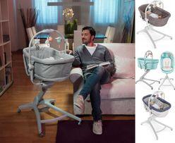 Łóżeczko leżaczek krzesełko CHICCO BABY HUG 4W1 - 4x kolory - NOWE!