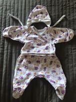 Пять комплектов одежды для новорожденных