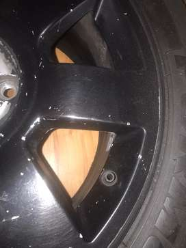 Bmw OEM 17inch mag and tyre for sale* single rim